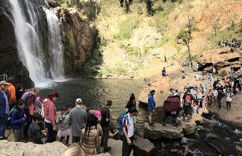 マッケンジー滝 Mackenzie Falls